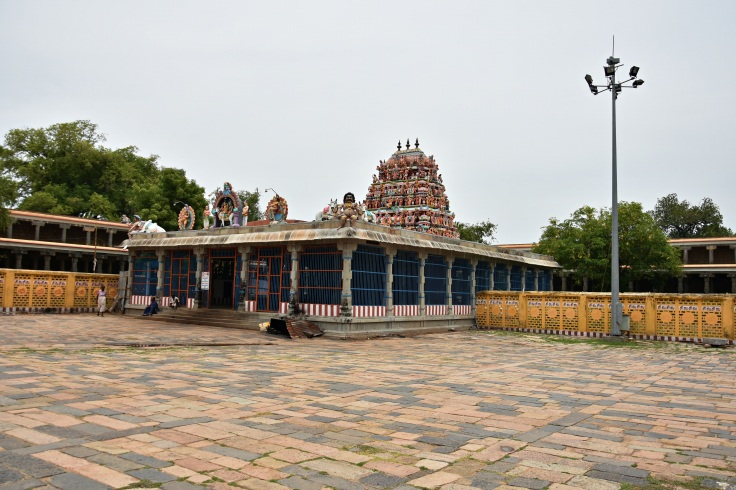 DSC_9754 - Mukkurini Vinayagar temple on the southwest corner of 3rd prakara - Thillai Nataraja temple complex.