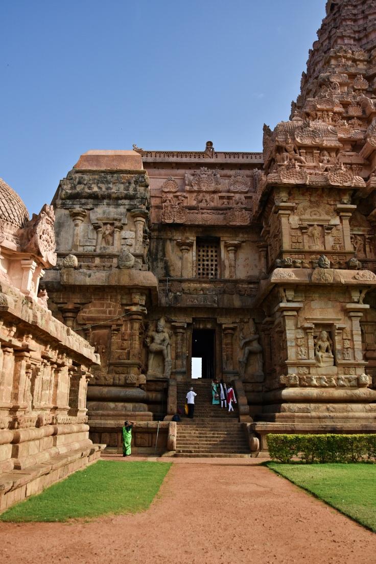 DSC_9894 - Northern entrance direct to the Ardhamandapa of Brihadisvara, Gangaikondam.