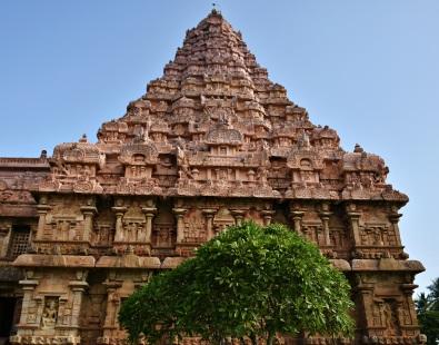 Brihadisvara temple, Gangaikonda cholapuram - North face
