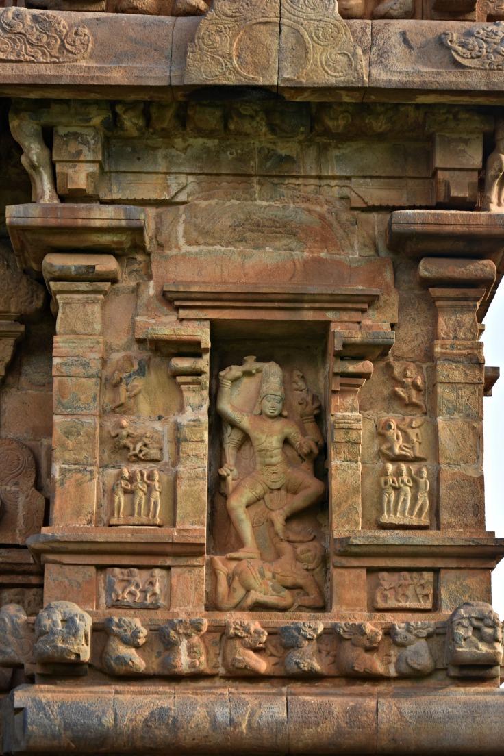 DSC_9925 - Kalantaka image - North side of the NW corner of Brihadisvara.