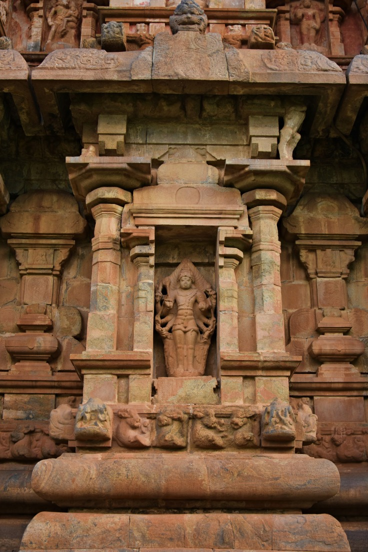 DSC_9928 - Bhairava - a warrior form of Shiva - north wall of Brihadisvara.