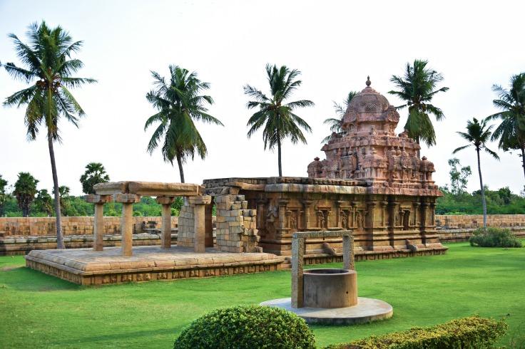 DSC_9978 - Kailasanatha Shrine at South - East facing.