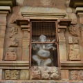 DSC_9989 – Image of Ganapati on the 1st layer of south side.