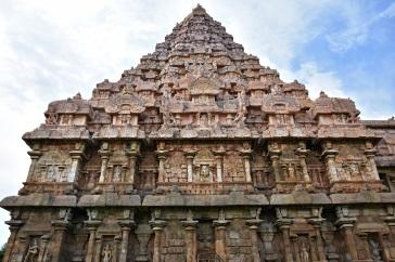 South face of Brihadisvara temple, Gangaikonda Cholapuram.