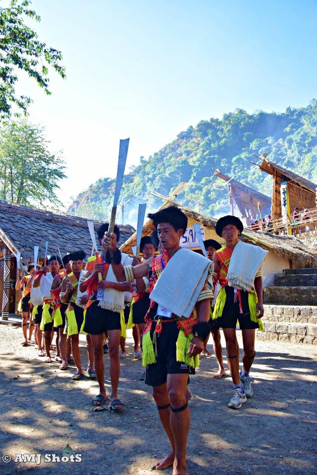 DSC_1806 Pochury Tribe practising a folk dance.
