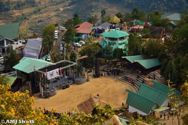 DSC_3249 Main Arena of Kisama Heritage Village - Hornbill Festival Location.