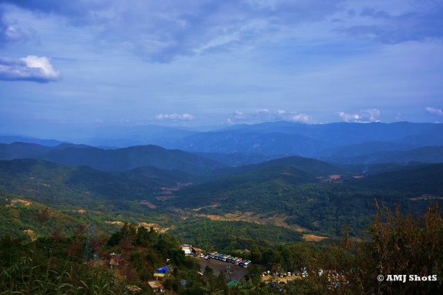 DSC_3266 Kisama province of Nagaland with surrounding hill ranges.