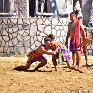 A test of Strength among Garos - Jaktongsika
