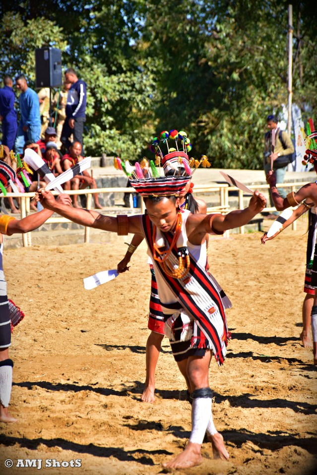 DSC_3892 Zeliang tribe getting ready for performing their Honey Bee Dance - Tinggeune Lim.